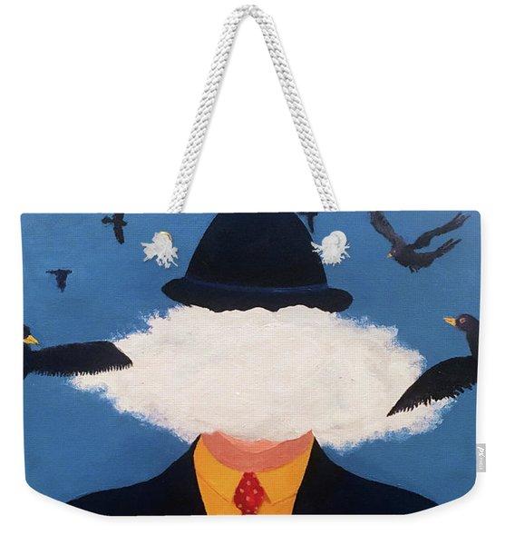 Head In The Cloud Weekender Tote Bag