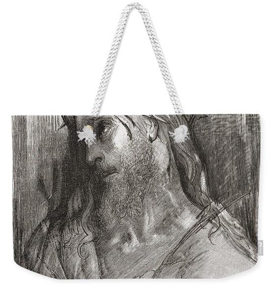 Head Of Christ, After The Original Weekender Tote Bag