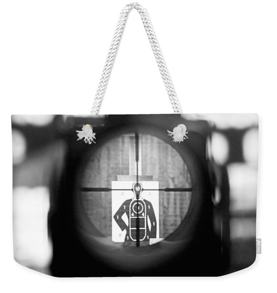 Head Shot Weekender Tote Bag