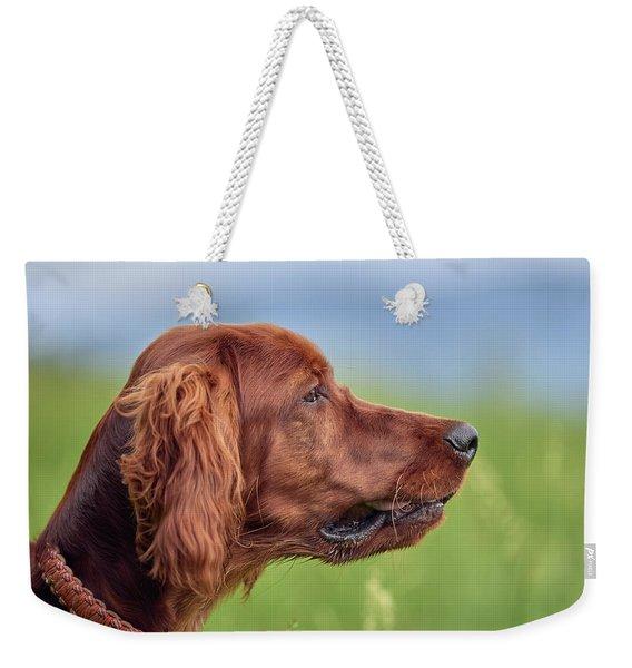 Head Study Weekender Tote Bag
