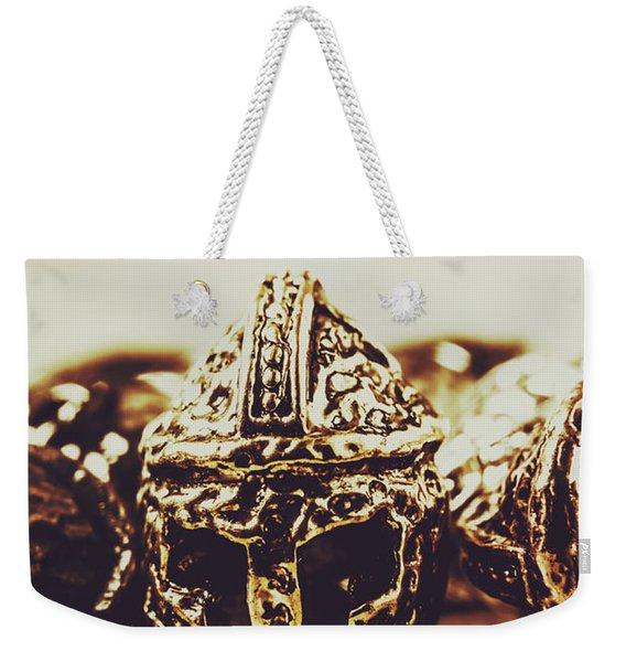 Headdress Of Medieval Antiquity Weekender Tote Bag