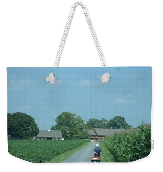 Heading Home From The Market Weekender Tote Bag