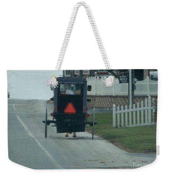 Heading Home From The Store Weekender Tote Bag