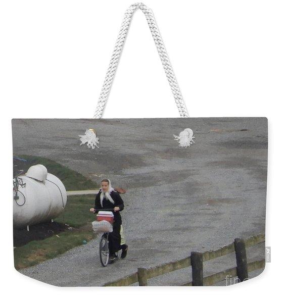 Heading Off To School Weekender Tote Bag