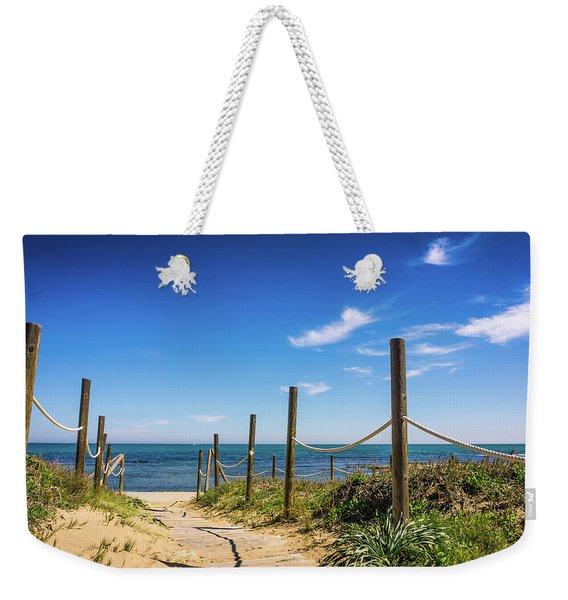 Heading To The Sea. Weekender Tote Bag