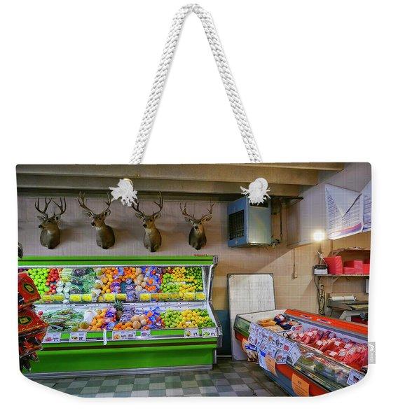 Heads Of State Weekender Tote Bag