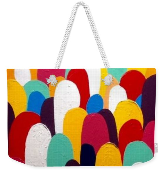 Heads Up Weekender Tote Bag