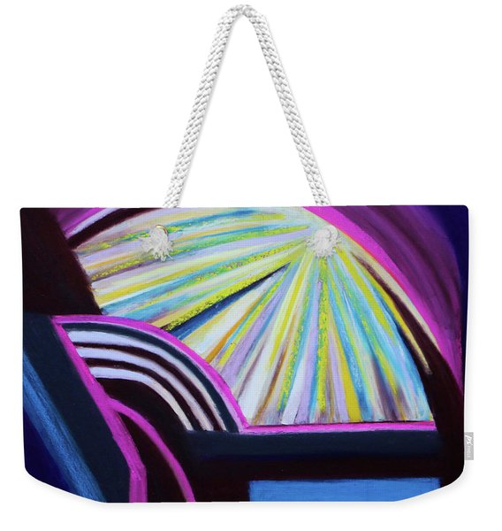 Healed From The Bed Of Pain Weekender Tote Bag