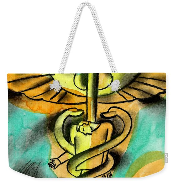 Healthcare And Expense Weekender Tote Bag