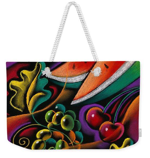 Healthy Fruit Weekender Tote Bag