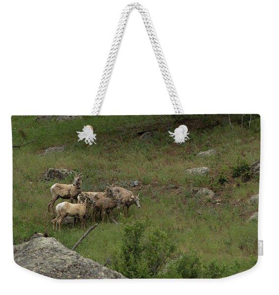 Hearding Goats Weekender Tote Bag