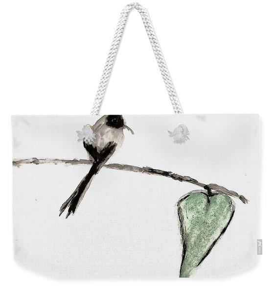 Heart And Soul Weekender Tote Bag
