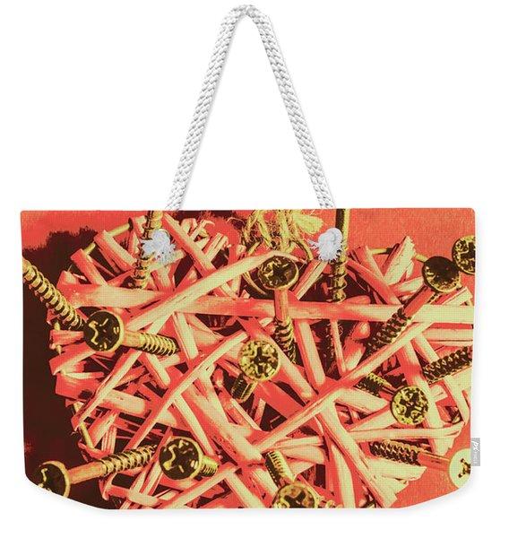 Heart Attack Weekender Tote Bag
