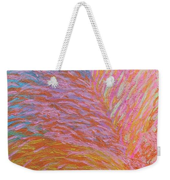 Heart Burst Weekender Tote Bag