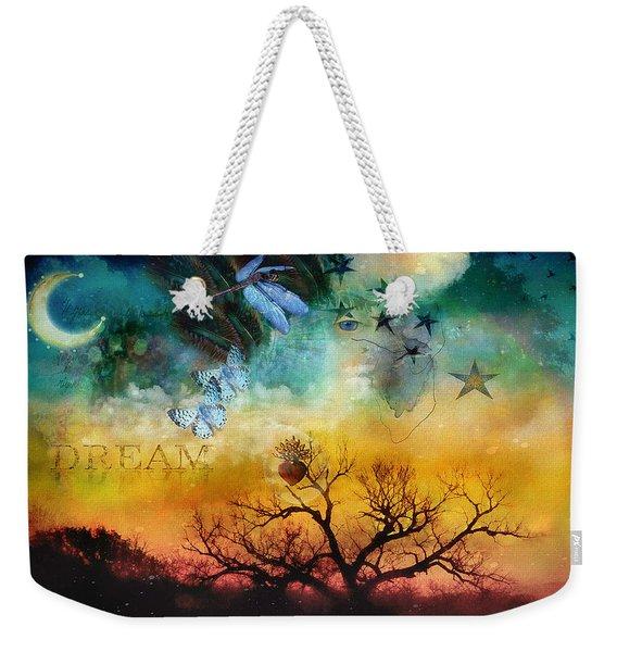 Heart Dream Weekender Tote Bag