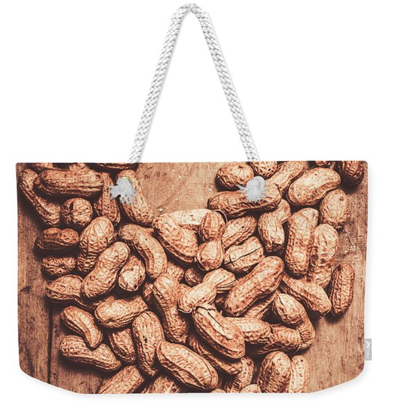 Heart Health And Nuts Weekender Tote Bag