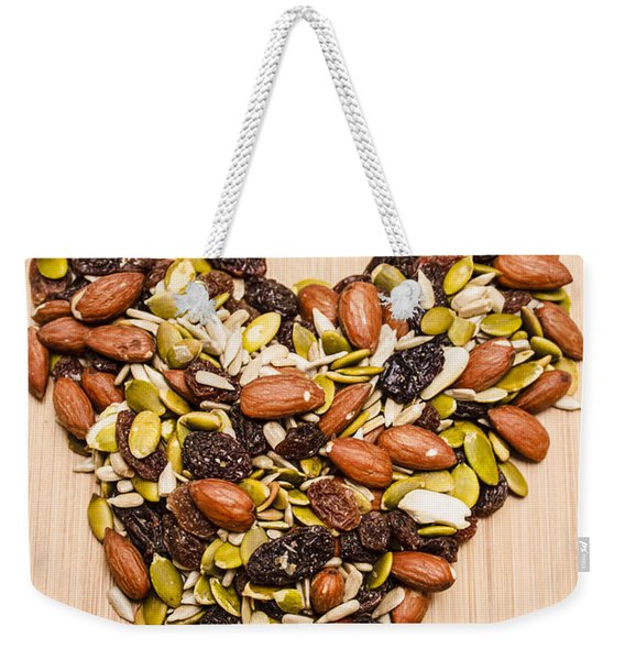 Heart Healthy Snacks Weekender Tote Bag