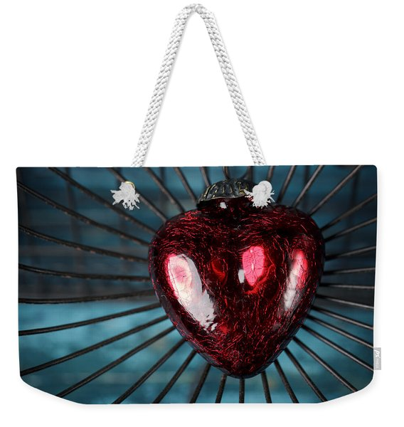 Heart In Cage Weekender Tote Bag
