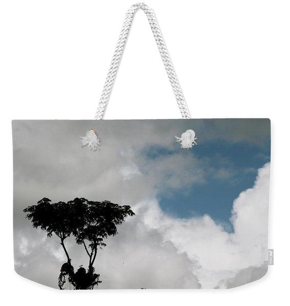 Heart In The Clouds Weekender Tote Bag