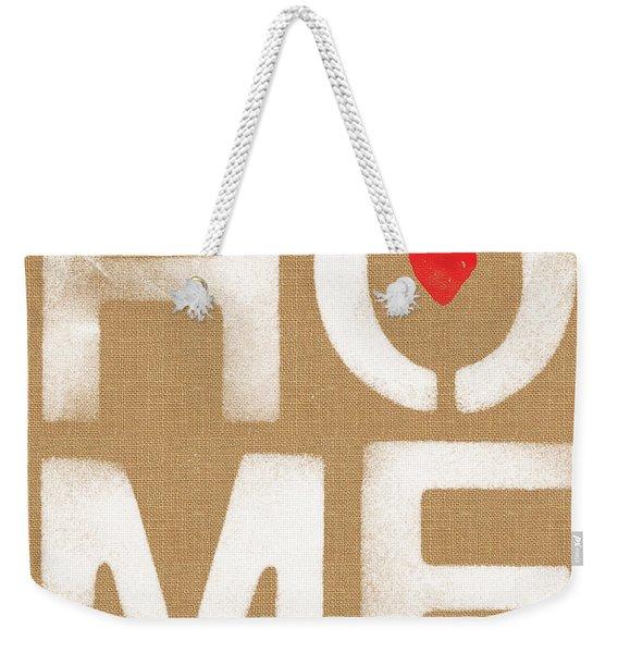 Heart In The Home- Art By Linda Woods Weekender Tote Bag