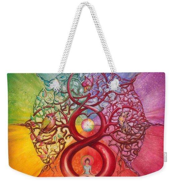 Heart Of Infinity Weekender Tote Bag