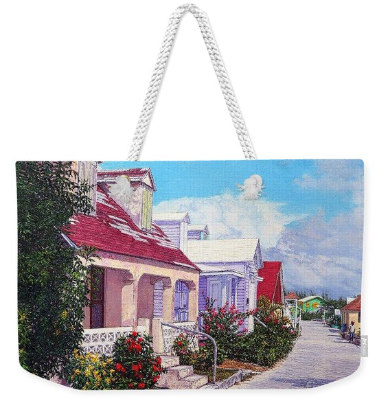 Heart Of The Current Weekender Tote Bag