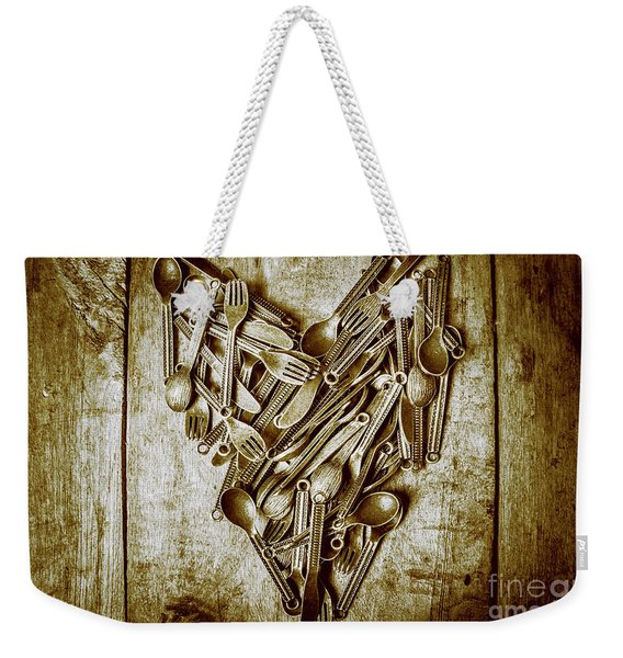 Heart Of The Kitchen Weekender Tote Bag
