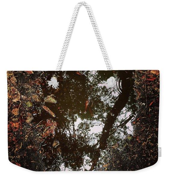 Heart Of The Wood Weekender Tote Bag