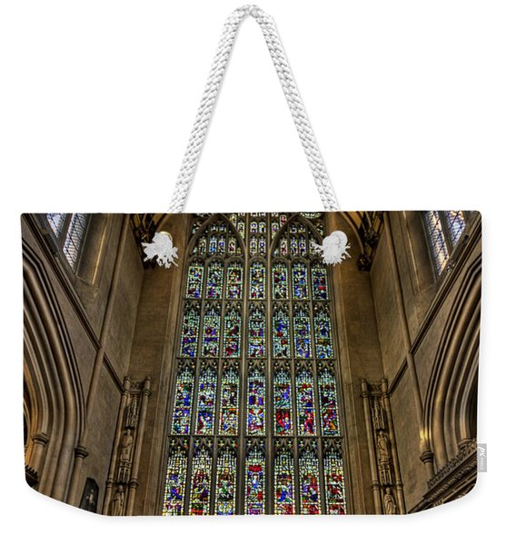 Heart Of Worship Weekender Tote Bag