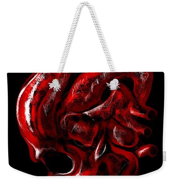 Heartache Weekender Tote Bag