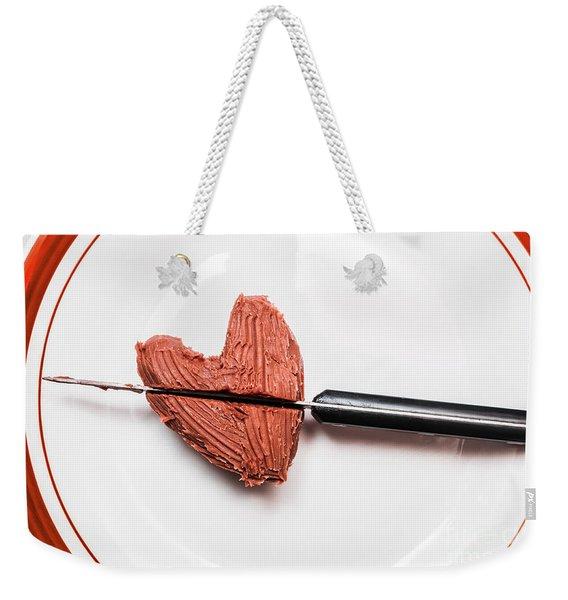 Heartbreak Cake Weekender Tote Bag