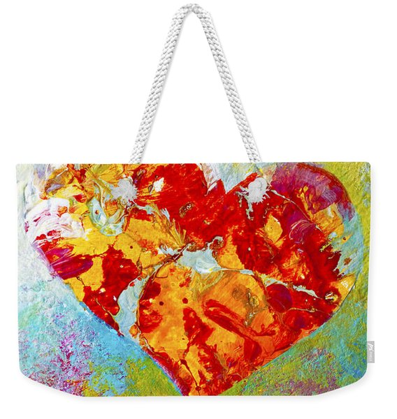 Heartfelt I Weekender Tote Bag
