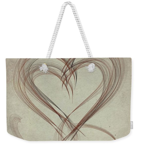 Heartful Weekender Tote Bag