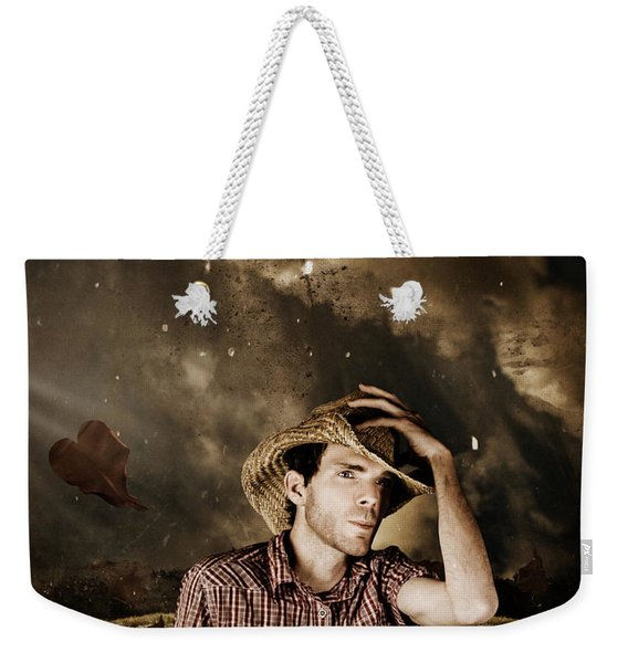 Heartland Of Outback Country Australia Weekender Tote Bag