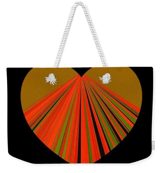 Heartline 5 Weekender Tote Bag
