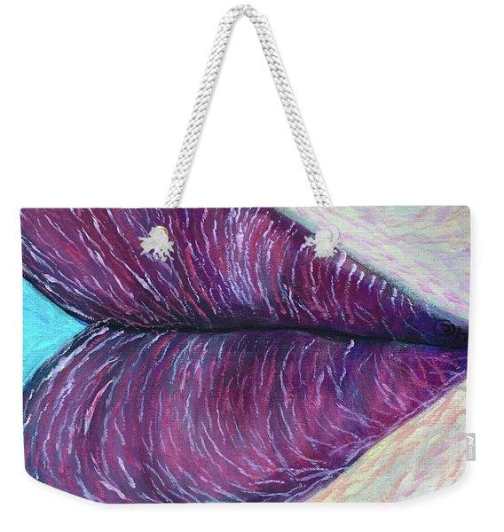 Heart's Kiss Weekender Tote Bag