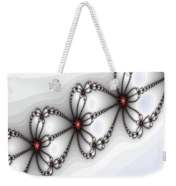 Hearts Of Fire Weekender Tote Bag