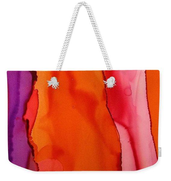 Heat Waves Weekender Tote Bag