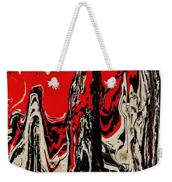 Heat Waves Weekender Tote Bag