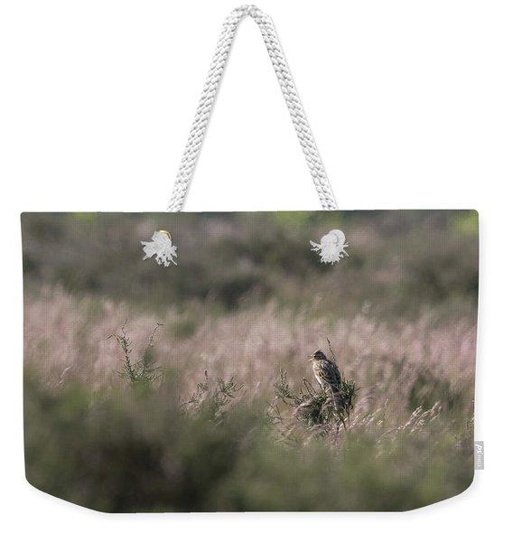Heath Song  Skylark Weekender Tote Bag