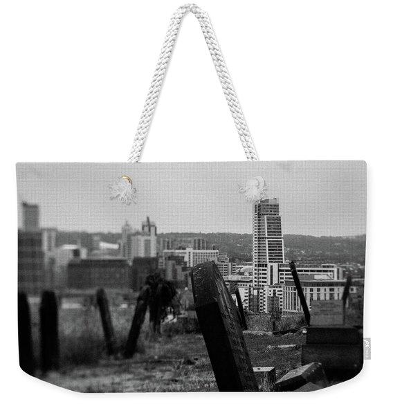 Heaven And Earth Weekender Tote Bag
