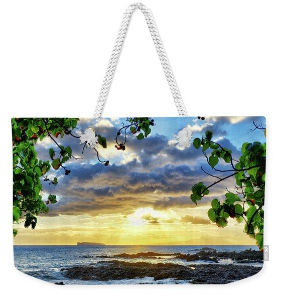 Heaven On Maui Weekender Tote Bag