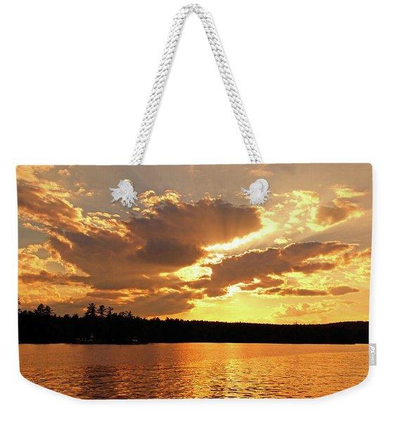 Heaven Shining Weekender Tote Bag
