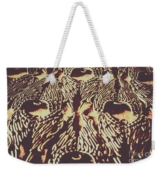 Heavenly Antique Weekender Tote Bag