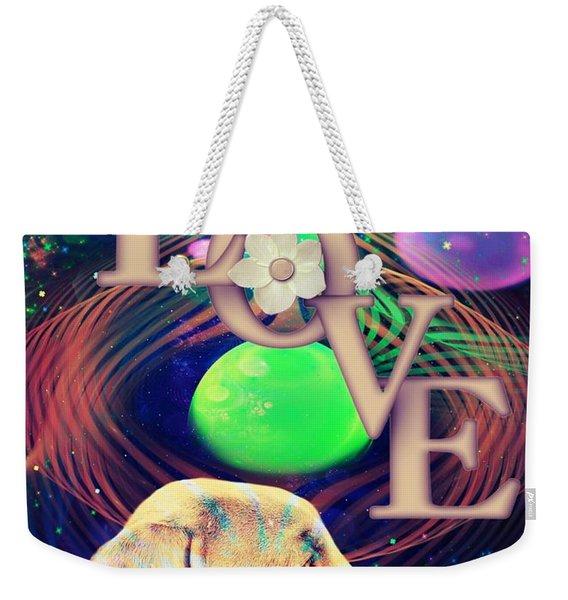 Heavenly Love Weekender Tote Bag
