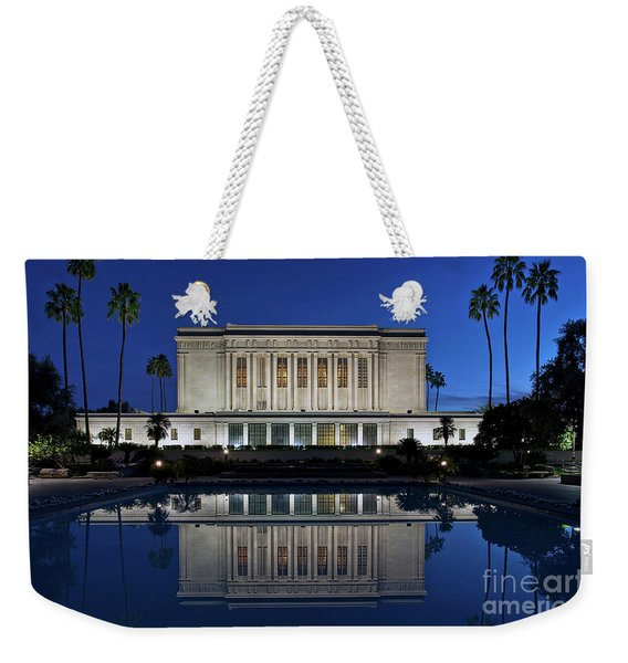 Weekender Tote Bag featuring the photograph Heavenly Reflections by Sam Antonio Photography