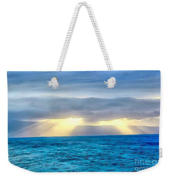 Heaven's Luminous Grace Weekender Tote Bag