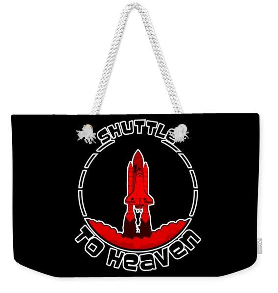 Heavens Shuttle Weekender Tote Bag