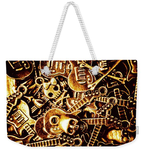 Heavy Metal Mix Weekender Tote Bag