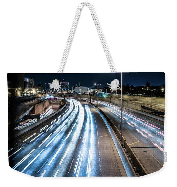 Heavy Traffic Weekender Tote Bag